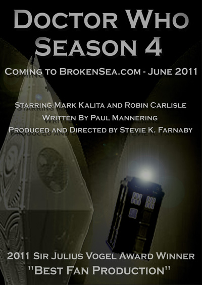 Season 4 - Sir Julius Vogel Award Win Poster