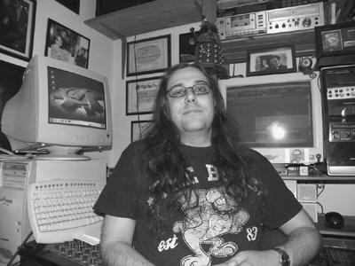 Stevie in Access Recording Studio