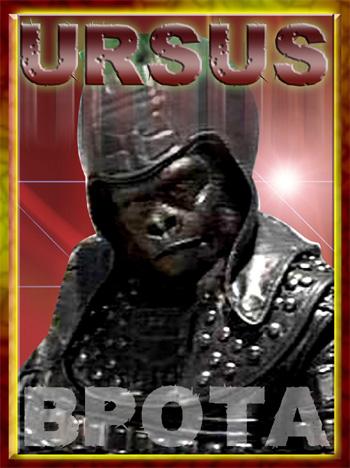 General Ursus Trading Card