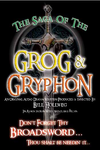 Grog & Gryphon Poster