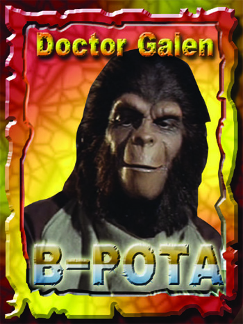 Doctor Galen Trading Card